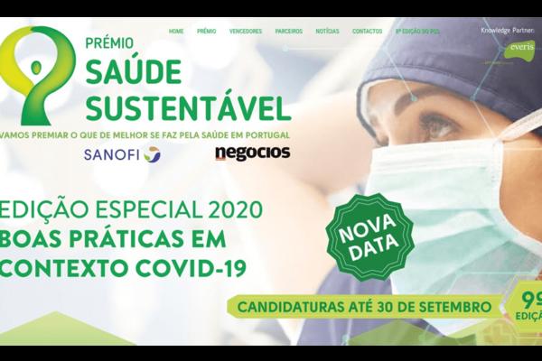 Prémio Saúde Sustentável: Os efeitos da pandemia em projetos vencedores